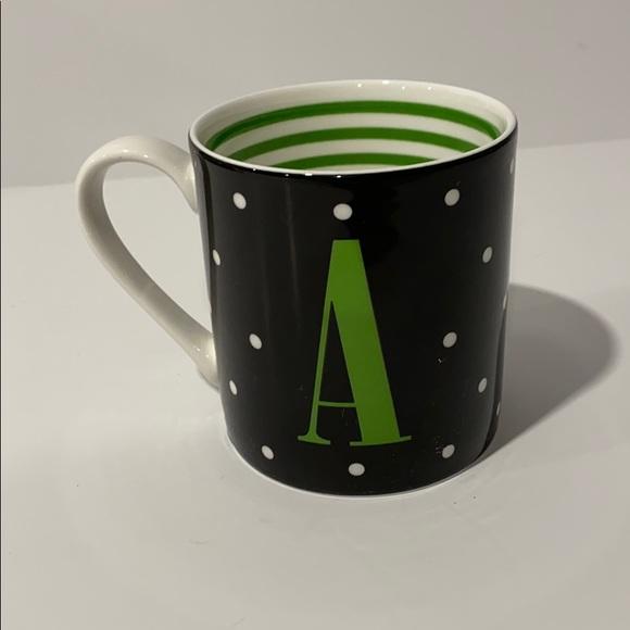 Kate Spade A monogram mug